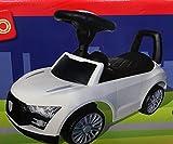 Playland Rutschauto Kinderauto Hupe Sound-Funktion Flüsterreifen Farbwahl (weiss)