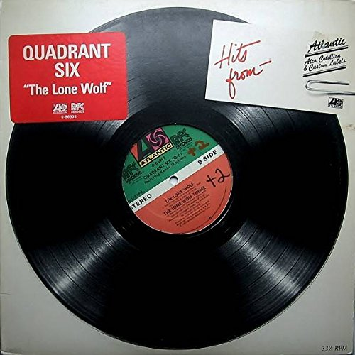 Quadrant Six featuring Kenny Simmons - The Lone Wolf - Atlantic - 0-86993, RFC Records - 0-86993