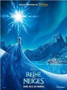 Affiche Cinéma Originale Grand Format - La Reine Des Neiges (format 120 x 160 cm pliée)