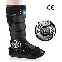 REAQER Bota para Caminar ROM Air Sac Walker Brace Estabilizador de Tobillo Desmontable para Lesiones de
