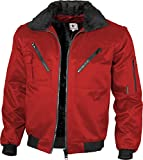 Qualitex - Pilotenjacke 4 in 1, Royal , 3XL