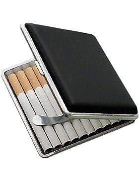 Tenflyer Nuevo cigarrillo del bolsillo de de cuero caja de la caja de tabaco titular caso de almacenamiento Tabaco...