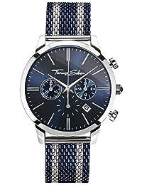 Thomas Sabo Men's Watch Rebel Spirit Chrono silver blue Analogue Quartz