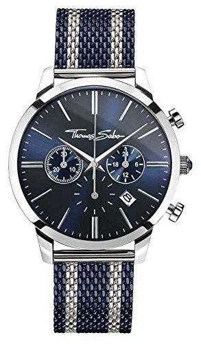 Montre Homme - Thomas Sabo WA0283-286-209-42mm