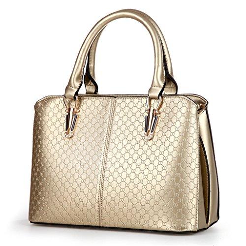 HerHe ,  Damen Tasche Gold