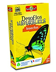 Bioviva- Juego De Cartas Desafíos Naturaleza Insectos (Asmodee ADE0DES06ES)