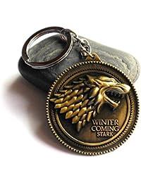 Aai Classic Game Of Thrones Metal Keychain - Golden