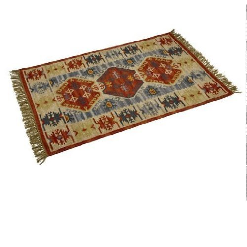 Kasbah Kilim Rug, 150x230cm. 100% Wool.
