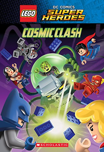 Cosmic Clash (Lego DC Comics Super Heroes: Chapter Book) Cover Image