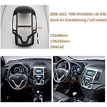 autostereo 11–142coche fascia radio marco para Hyundai I-30(FD) 2008–2011AUTO Aire Acondicionado izquierda mano radio de coche estéreo soporte marco