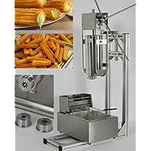 5L Capactity Plus soporte de trabajo y 6L freidora churro máquina churro eléctrica español Churros Panificadora 220V–240V