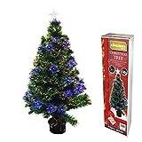 Glasfaser Weihnachtsbaum 90 cm 88 (Spitzen)