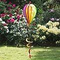 Windspiel - Micro Balloon TWISTER - wetterbeständig - Ballon: Ø17cm x 28cm, Spirale: Ø10cm x 35cm - inklusive kugelgelagerter Aufhängung von Colours in Motion auf Du und dein Garten