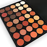 35 Warm Colours Eyeshadow Palette, Tinabless Professional Waterproof Make Up Palette with Matte Shimmer Eyeshadow Pallet (35O)