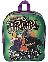 430344b38a6 Lego Batman Movie Batman vs Joker Back Pack Junior Back to School Holiday  Cabin Bag Rucksack