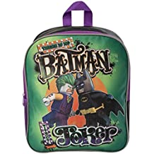 LEGO Batman película Batman Vs Joker Back Pack Junior de vuelta a la escuela vacaciones cabina bolsa mochila Back Bolsa Schoolbag Joker Vs Batman