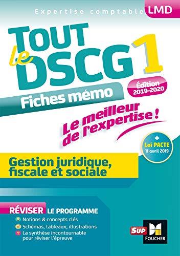 Tout le DSCG 1 - Gestion juridique fiscale et sociale - 3e édition - Révision par  Alain Burlaud, Catherine Maillet, Jean-Luc Mondon, Françoise Rouaix