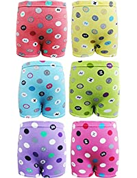 UCARE Girls Bloomer 100% Premium Cotton (604-Pack of6)