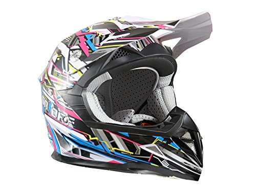 Casque cross enfant ON/OFF Switch - Taille M