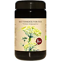 7 Bitterkräuter Pulver Nach Bertrand Heidelberger Bio 150g Im Violettglas