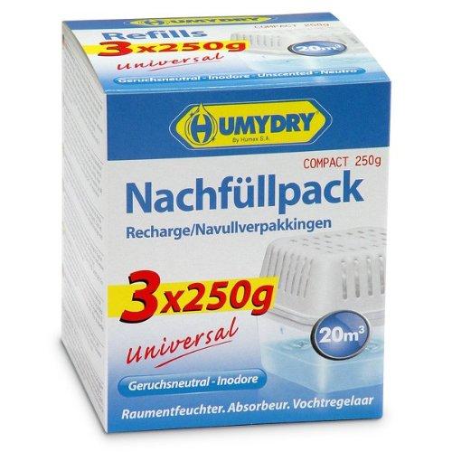 HUMYDRY - Nachfüllpackungen 3x250g