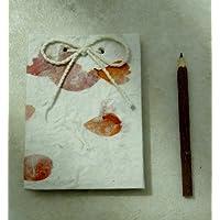Mulberry paper mini taccuino con matita, stile rustico - Mini Twig