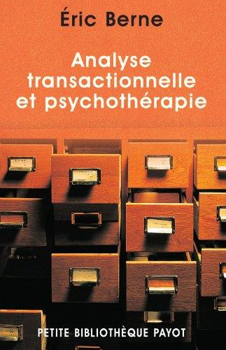 Analyse transactionnelle et psychothrapie