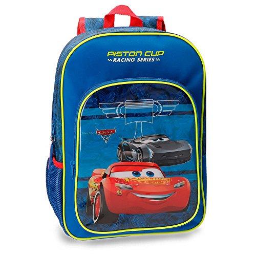Imagen de disney 4062361 racing series  infantil, 40 cm, 19.2 litros, azul