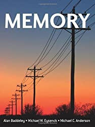 Memory 1st (first) by Baddeley, Alan, Eysenck, Michael W., Anderson, Michael C. (2009) Paperback