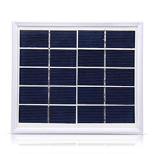 Foxpic Solarmodul Solarpanel Solarzelle 5V/800MA mit USB Slot Schwachlichtverhalten