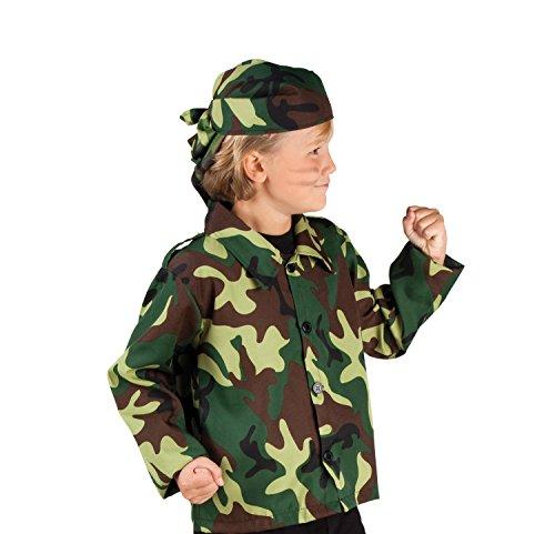 rkostüm Soldat, 140, grün (Spielzeug-soldat Halloween-kostüm Für Damen)
