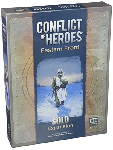 Academy Games ACA05104 Conflict of Heroes: Eastern Front Solo Expansion, Brettspiel