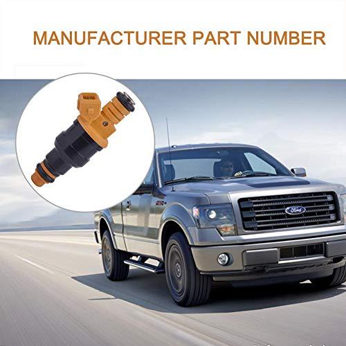 Dinapy 0280150718 Einspritzventil, Passend Für Ford F150 F250 F350 E150 E350 4.6 5.0 5.4 5.8