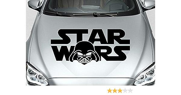Star Wars Sticker Aufkleber In Ihrer Wunschfarbe Auto Folien Ca 80cm X 35cm Schwarz Auto