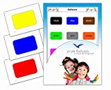 Color Flashcards for Toddlers - Vocabulary Picture Cards