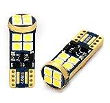 2x LAMPEN MIT 10 x 3030-chip XENON WEISS CANBUS CE T-zehn -Sockel W-fünf-W W2.1x9.5d 12V 2 STÜCK Innen- Kennzeichen- Einstiegs- Kofferraum- Fussraumbeleuchtung Standlicht Positionslicht