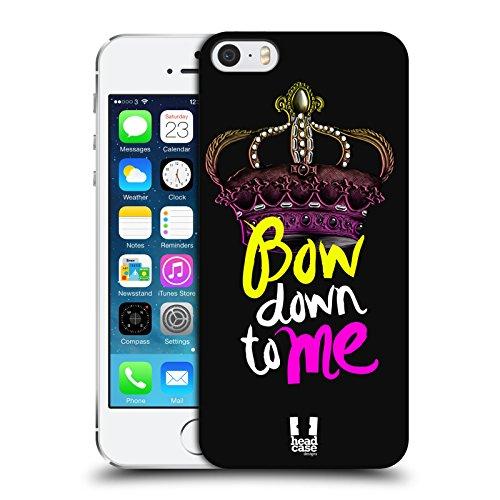 Head Case Designs Your Next Queen Ribelli Della Corona Cover Retro Rigida per Apple iPhone 6 / 6s Bow Down To Me