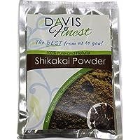 Davis Finest Shikakai Acacia Concinna jabón Pod polvo–Natural Jabón Champú y Acondicionador de Limpieza Profunda brillante pelo y crecimiento Tratamiento de Uñas (100G)