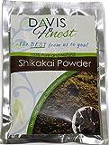 Davis Finest Shikakai acacia Concinna sapone pod polvere-sapone naturale shampoo e pulizia profonda conditioner Brilliant Hair Shine e trattamento crescita (100g)