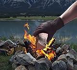 tempracell Aktion: 10 X Ofenhandschuhe, Grillhandschuhe, Topfhandschuhe für Grill, Ofen, Feuerstelle, Saunaaufguss. Schutz vor Verbrennung. Markenqualität