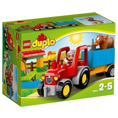 LEGO Duplo - El tractor de la granja, multicolor (10524)