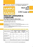 Oswaal CBSE Sample Question Papers Class 10 English Language & Literature (Mar. 2018 Exam)