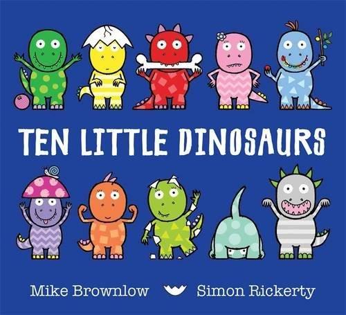 Ten Little Dinosaurs Cover Image