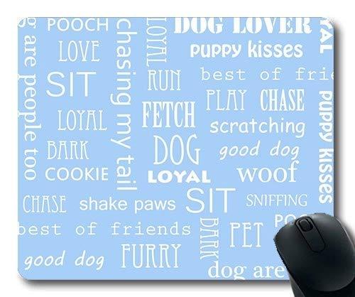 Gaming-Mauspad, Weimaraner Dog Sweet Dog, Präzisionsnaht, strapazierfähiges Mauspad