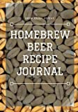 Homebrew Beer Recipe Journal