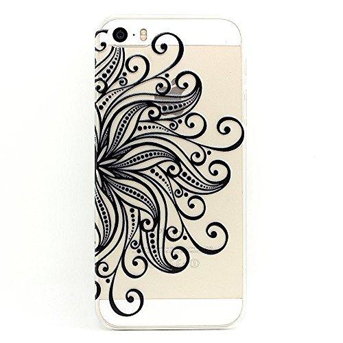 Asmiled Housse Coque etui Case Cover Pour iPhone 5/5S/SE,PC Coque Pour iPhone 5/5S/SE, Hard Plastique Coque pour iPhone 5/5S/SE N14