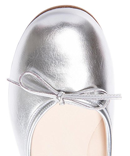 MONICOCO , Ballerines femme - Silber Pu