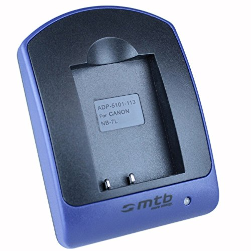 Ladeschale (Micro-USB) für Canon NB-7L / PowerShot G10, G11, G12, SX30 IS Powershot G11 Kit