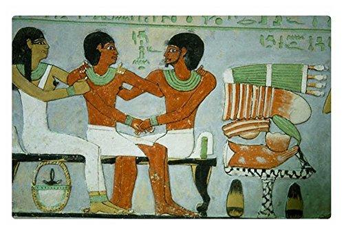 iRocket interior Suelo Alfombra/Alfombrilla–egipcio familia (23.6'x 15.7', 60cm x 40cm)