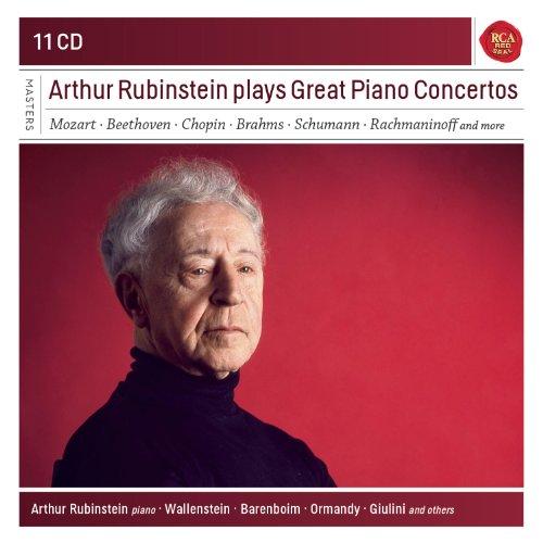 Arthur Rubinstein Plays Great Piano Concertos [11 CD]